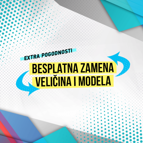 BESPLATNA ZAMENA VELIČINA I MODELA U EXTRA SPORTS INTERNET PRODAVNICI