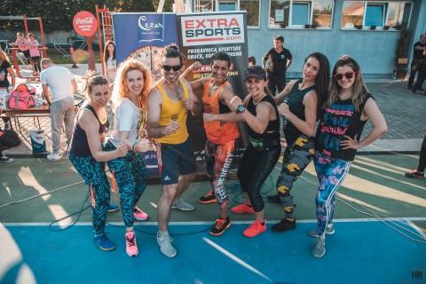 EXTRA SPORTS na Fitnes festivalu u Pirotu
