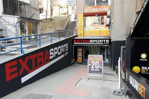 NOVA PRODAVNICA NA POZNATOM MESTU: Dobro došli u Extra Sports Požeška