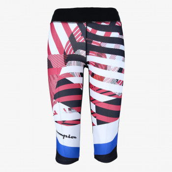 CHAMPION Helanke GYM PRINTED 3/4 LEGGINGS