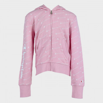 CHAMPION Dukserica GIRLS ALL OVER FULL ZIP HOODY