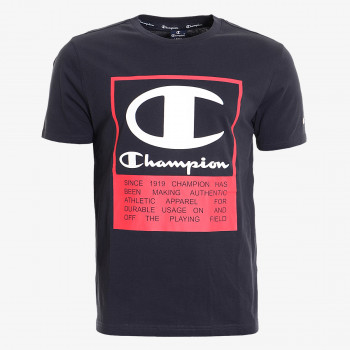 CHAMPION Majica SQUARE LOGO T-SHIRT