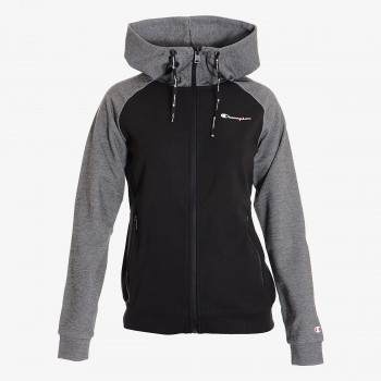 CHAMPION Dukserica LADY TECH BLOCK FULL ZIP HOODY