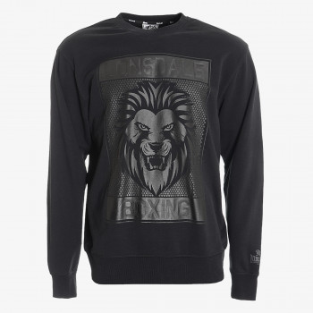 LONSDALE Dukserica LONSDALE BLK LION SWEAT
