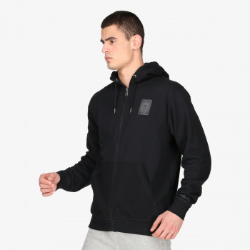 LONSDALE Dukserica LONSDALE BLK LION FZ HOODY