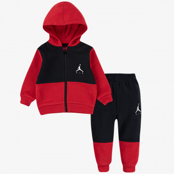 NIKE Set JORDAN JDB JUMPMAN AIR FLEECE SET