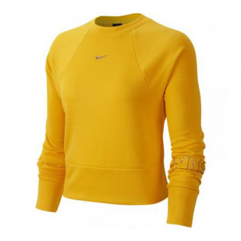 NIKE Majica dugih rukava W NK DRY FLC GET FIT CRW NK GX