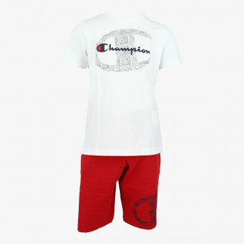 CHAMPION Set BOYS LOGO SET