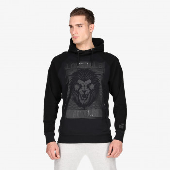 LONSDALE Dukserica LONSDALE BLK LION HOODY