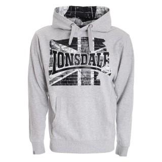 LONSDALE Dukserica Lonsdale Flag 2 Hoody