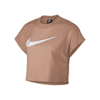 NIKE Majica W NSW SWSH TOP CROP SS