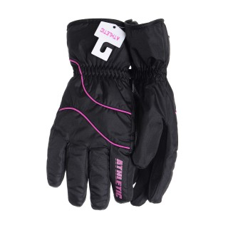 ATHLETIC Rukavice Athletic Ski Glove Ld Black