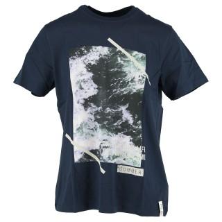 COCOMO Majica T-SHIRT OCEAN