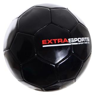 Lopta EXTRA SPORT FOOTBALL BLACK 5