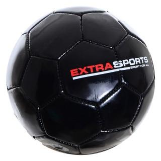 Lopta EXTRA SPORT FOOTBALL BLACK 2