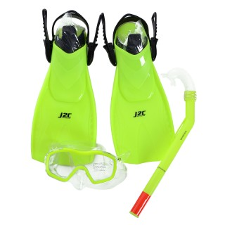 J2C Maska i peraja SET MASK, SNORKEL AND FINS