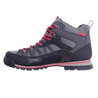 Cipele SPIKE MID WEATHERTITE BLACK/RED