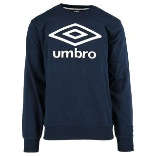 UMBRO Dukserica Only Umbro Crewneck SA BELIM LOGOM
