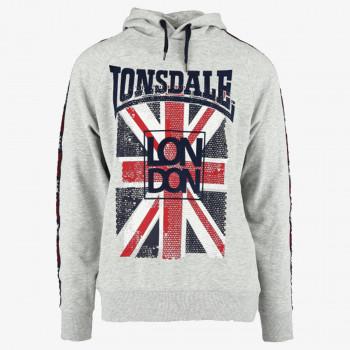 LONSDALE Dukserica Lonsdale Mens Hoody