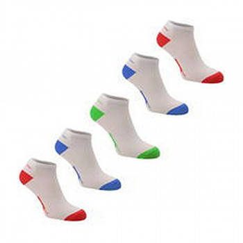 SLAZENGER ČARAPE 5PK TRAINER SOCK 00 BRIGHT ASST JUNIOR 1