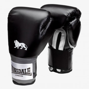 LONSDALE Rukavice LONSDALE PRO TRAIN GLV BLACK 12OZ