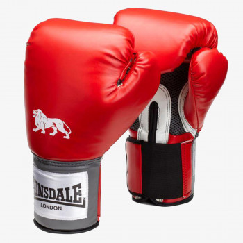 LONSDALE Rukavice LONSDALE PRO TRAIN GLV RED 12OZ