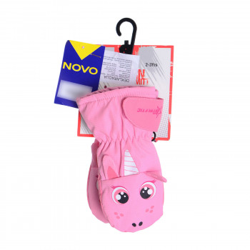 ATHLETIC Rukavice Athletic Animal Mitt Inf Pink
