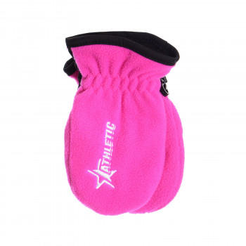 ATHLETIC Rukavice Athletic Ski Mitt Inf Pink