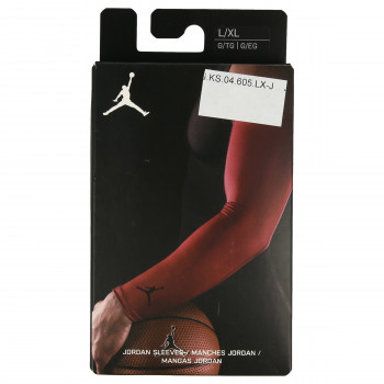 JR NIKE Rukav JORDAN SHOOTER SLEEVES L/XL GYM RED/BLAC
