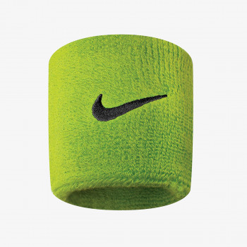 JR NIKE Znojnica NIKE SWOOSH WRISTBANDS ATOMIC GREEN/BLAC
