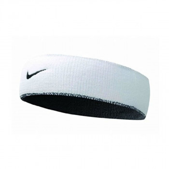 JR NIKE Znojnica NIKE DRI-FIT HOME & AWAY HEADBAND WHITE/